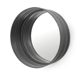 Ronde spiegel zwart