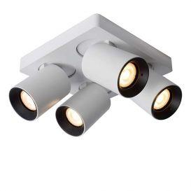 Plafondspot Nigel wit 4 lampen