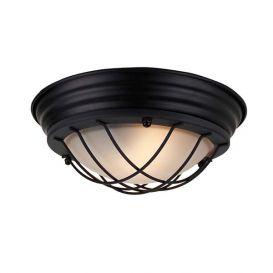 Plafondlamp Nero zwart 28cm