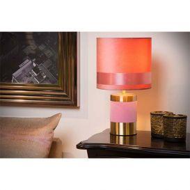 Tafellamp Frizzle roze