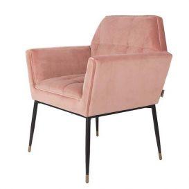 Armstoel Kate pink clay