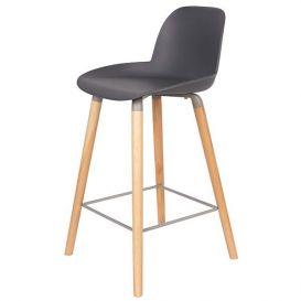 Counter stoel Albert kuip donker grijs