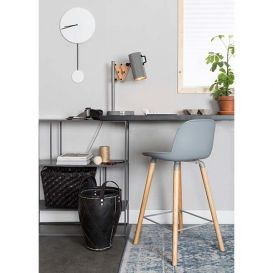 Counter stoel Albert kuip licht grijs