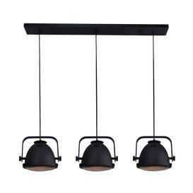 Hanglamp Nero 3 lichts zwart