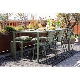 Tuinstoel Vondel green met armleuning