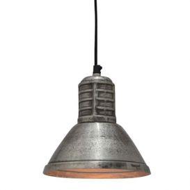 Hanglamp Bertone rough nickel