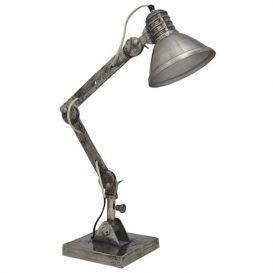 Bureau lamp Bertone rough nickel