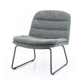 Lounge stoel Bermo antraciet