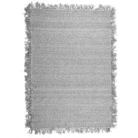 Vloerkleed Woolie licht grijs 200x290cm
