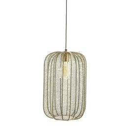 Hanglamp Carbo brons