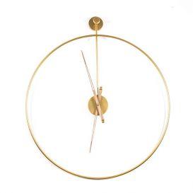 Klok Sundial goud groot