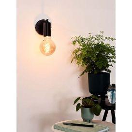 Wandlamp Leanne zwart