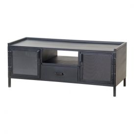 Tv-meubel Industrieel 2-deurs 1 lade