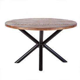 Eettafel rond kruispoot 150cm