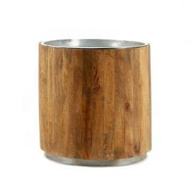 Koffietafel Tub metaal 45x45cm