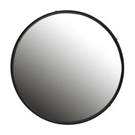 Spiegel Lauren metaal zwart 60cm