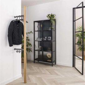 Kapstok staand metal bamboo 2x3 haaks