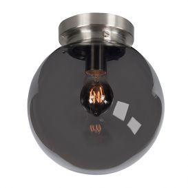 Glas Globe 25 cm smoke