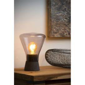 Tafellamp Barry glas