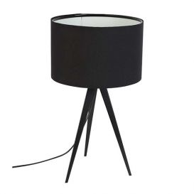 Tafellamp Tripod zwart