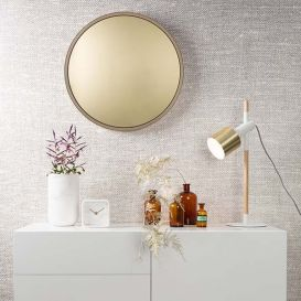 Tafellamp Ivy wit/goud