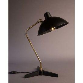 Bureaulamp Devi matt zwart