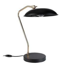 Tafellamp Liam zwart