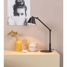Bureaulamp Lub zwart