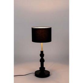 Tafellamp Totem zwart