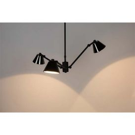 Hanglamp Lub zwart
