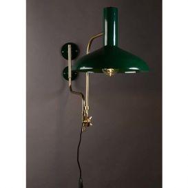 Wandlamp Devi groen