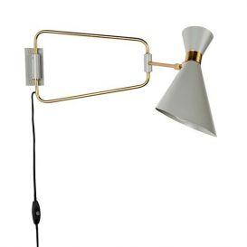 Wandlamp Shady grijs