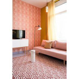 Vloerkleed Beverly roze 170x240cm