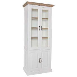 Vitrinekast Oakdale 4 deurs
