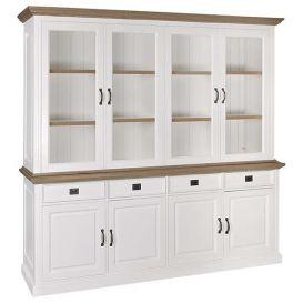 Buffetkast Oakdale 2x4-deurs 4 laden