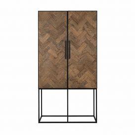 Wandkast Herringbone 2-deurs