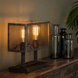 Tafellamp Raster rechthoek 2 lampen