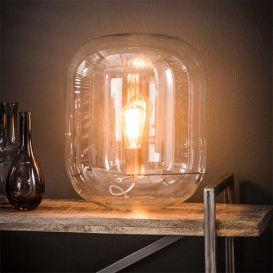 Tafellamp Stolp glas