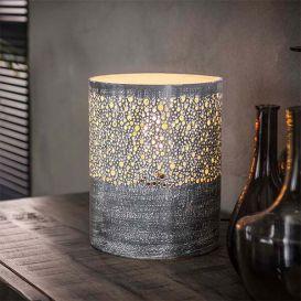 Tafellamp Ø20 cilinder grijs