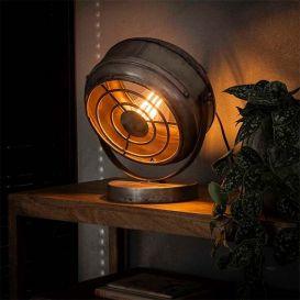 Tafellamp Beam oud zilver