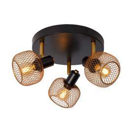 Plafondspot Maren goud 3 lampen