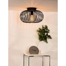 Plafondlamp Manuela zwart 40cm