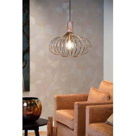 Hanglamp Manuela koper 50cm
