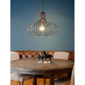 Hanglamp Manuela koper 65cm