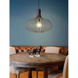 Hanglamp Manuela zwart 65cm