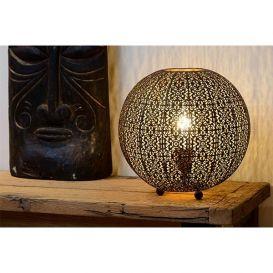Tafellamp Tahar zwart Ø33cm