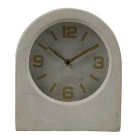 Klok Timeless beton grijs