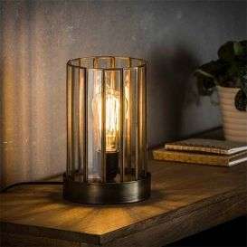 Tafellamp Artdeco cilinder