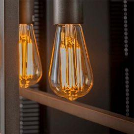 Lichtbron LED druppel E27 6W