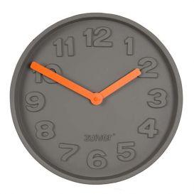 Klok Concrete Time oranje